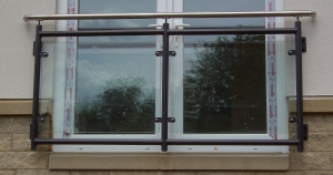 Balconettes made by Bradfabs and installed on apartments in Bradford, West Yorkshire