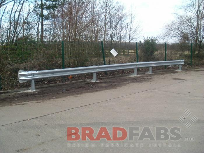 one off engineering,steel barrier,metal barriers,mild steel tram lines,mild steel channels,bin enclosure,bin shelter,stainless steel heat exchange,mild steel armco barrier,stainless steel bath shroud,vintage car radiator,lamp post protector,car park barri