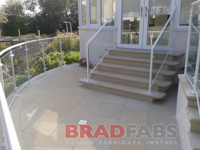 In mild steel, galvanised and powder coated Balustrade by bradfabs