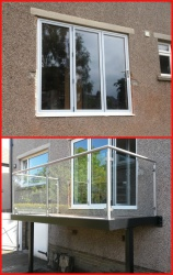 Balcony made and installed in Skipton