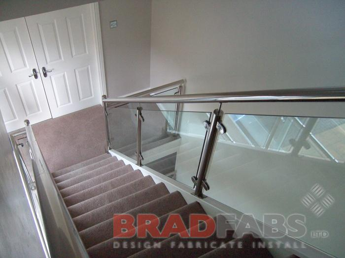 Modern Steel Balustrade