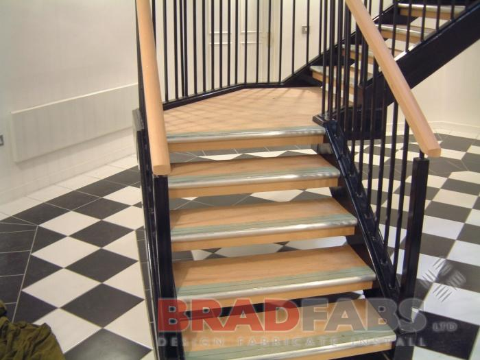 residential apartment bespoke stairs