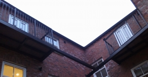 steel balcony fabricated by bradfabs in west yorkshire