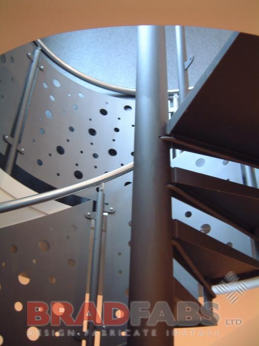 Supply and installation of Spiral Staircase Uk Wide