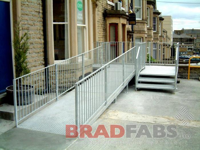 Steel Fabricators of Balconies, Staircases. access ramps ...