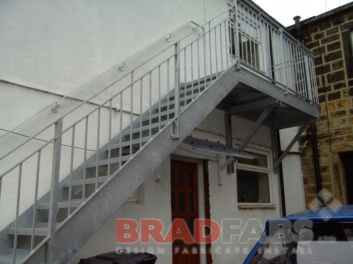 steel fabricators of balconies staircases fabricated