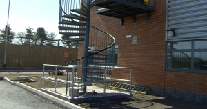 Spiral Staircase Installed at Offices in Leeds, West Yorkshire
