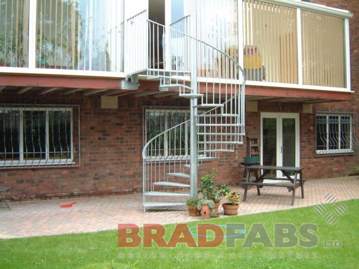 Delicieux Garden Spiral Staircase