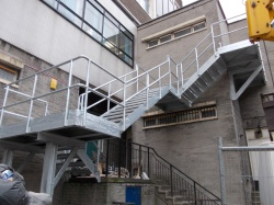 Bespoke design fire escapes