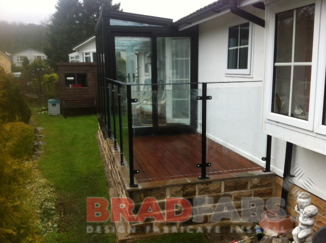 Domestic Patio Balustrade