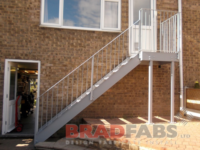 Steel Staircase - Fire Escape