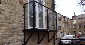 High Quality Balcony or Juliet Balcony, BRADFABS can make any design - give us a call