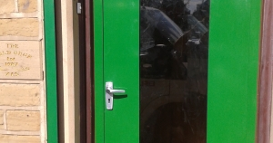 Bradfabs made these bespoke security doors for a jewellers in Bradford.