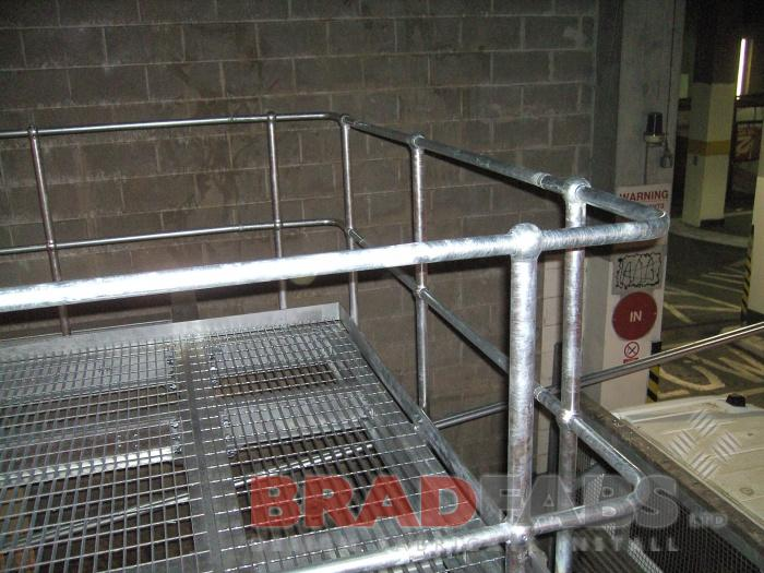 metal walkway provided by Bradfabs
