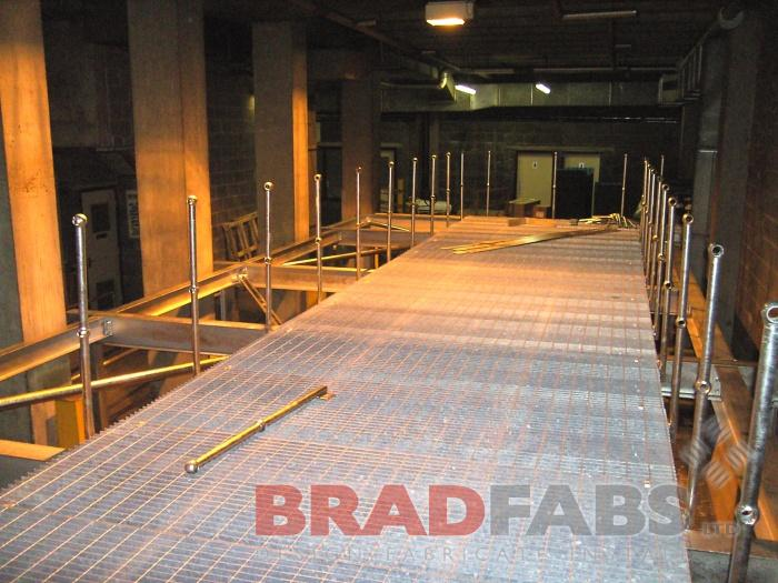 walkway galvanised by Bradfabs