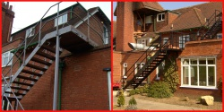 Brand New Fire Escape - the WOW Factor!!