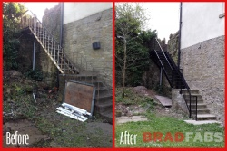 bradfabs fabricate any kind of fire escape