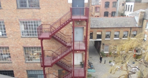 Replacement Fire Escape installed by BRADFABS in London