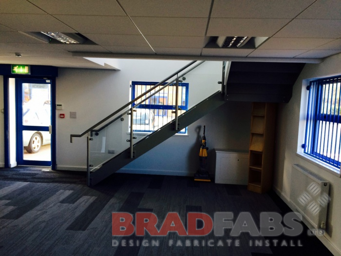 The wow factor with  Bradfabs Staircase