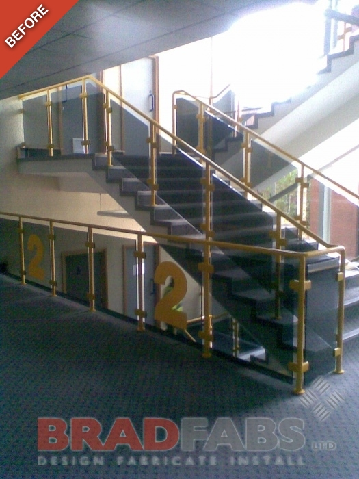 Office Refurbishment - Old dated balustrade