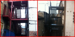 Fire Escape designed and installed
