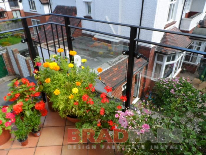 BRADFABS designed and fitted this balcony in Leeds, West Yorkshire