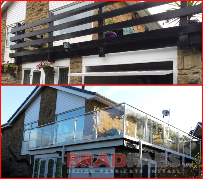 stunning modern replacement balustrade