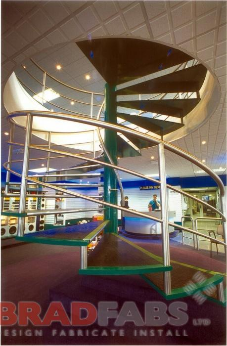 Circular Steel Staircase