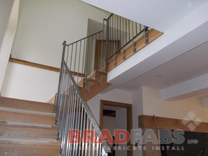 Solid Stainless Steel Railings