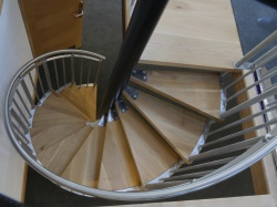 Spiral Staircase - domestic, commercial, fire escape - UK Wide