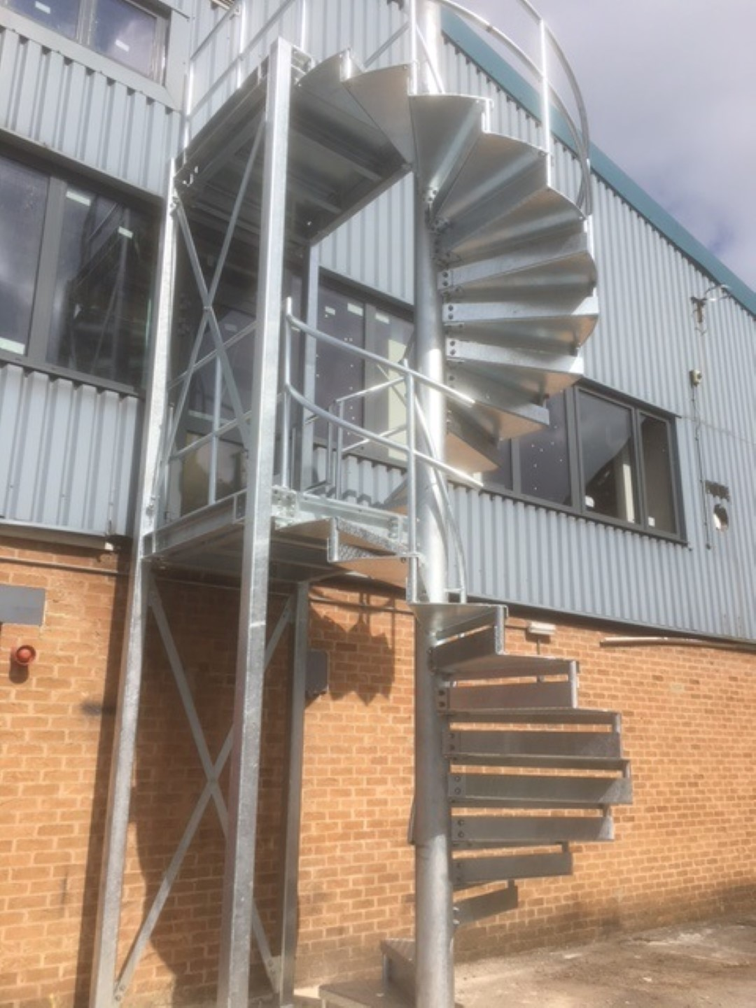 Steel Fabricators Of Balconies Staircases Spiral