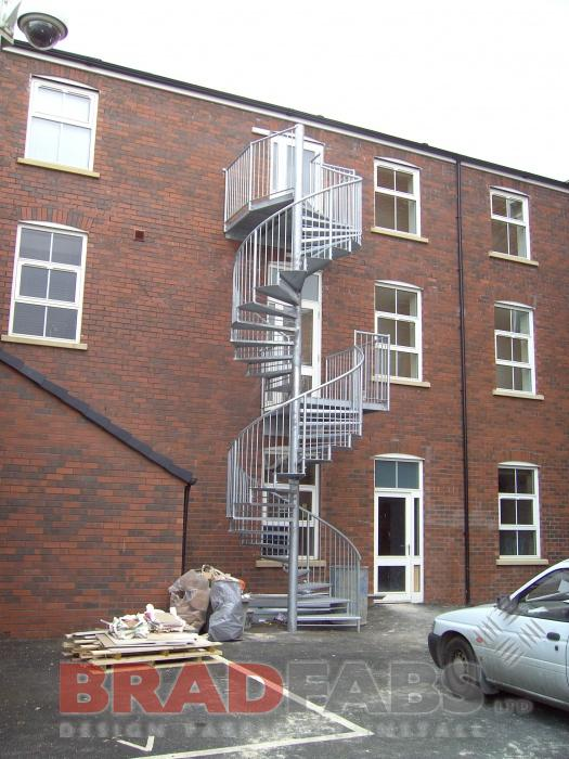 Golf Club Spiral Staircase
