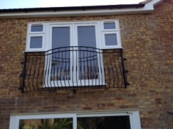 Curved Juliet Balcony