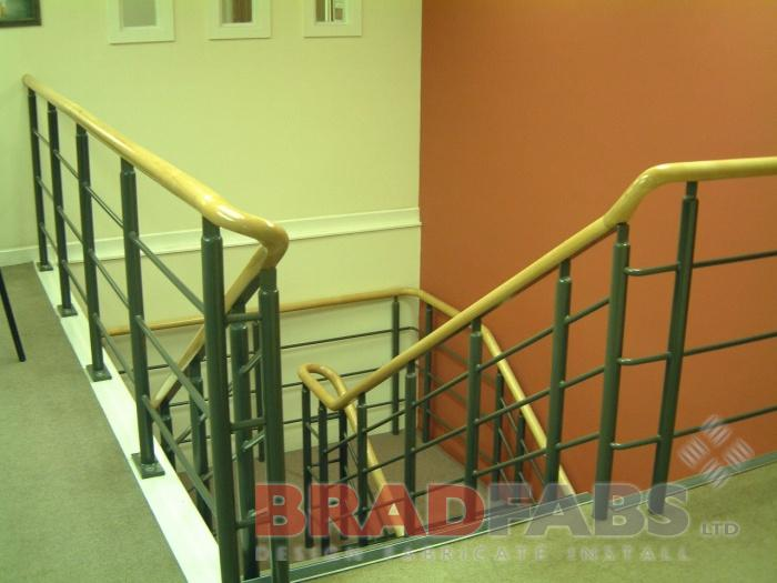 Office Staircase balustrade London