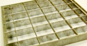 open mesh flooring panels fabricated in west yorkshire by bradfabs