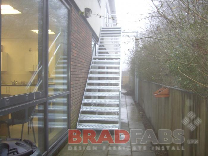 School Emergency Staircase