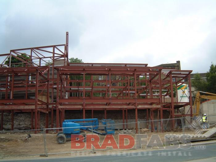 Bradfads design, supply and install structural steel work