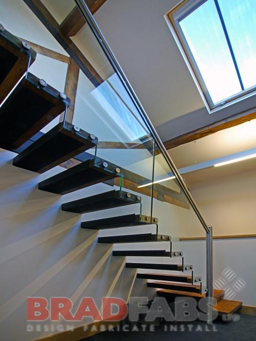 floating effect stairs