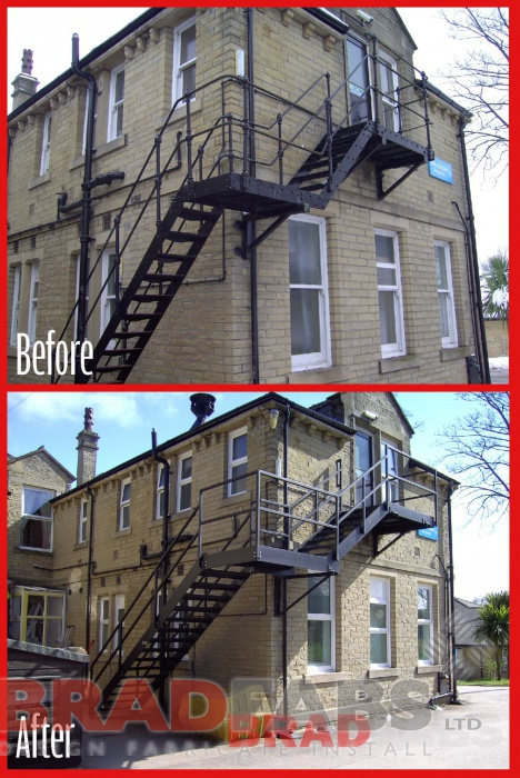 Steel Fabricators Of Balconies Staircases Fire Escapes