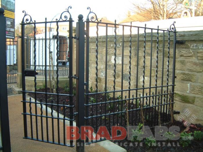 Bradfads design, supply and install railings