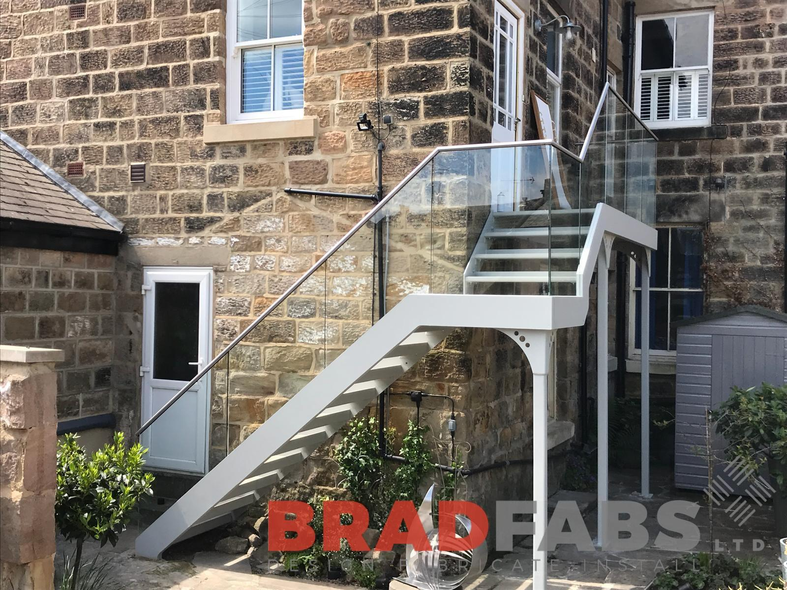 External Garden Staircases West Yorkshire