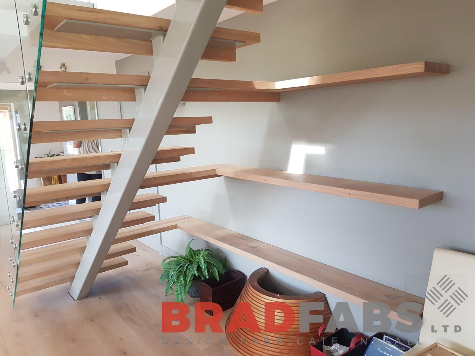 Floating Staircases: Building Practical Solutions Beautifully