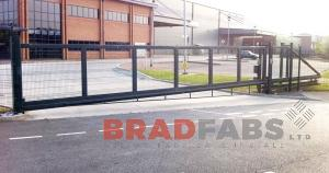 Bradfabs supplied and installed this gate