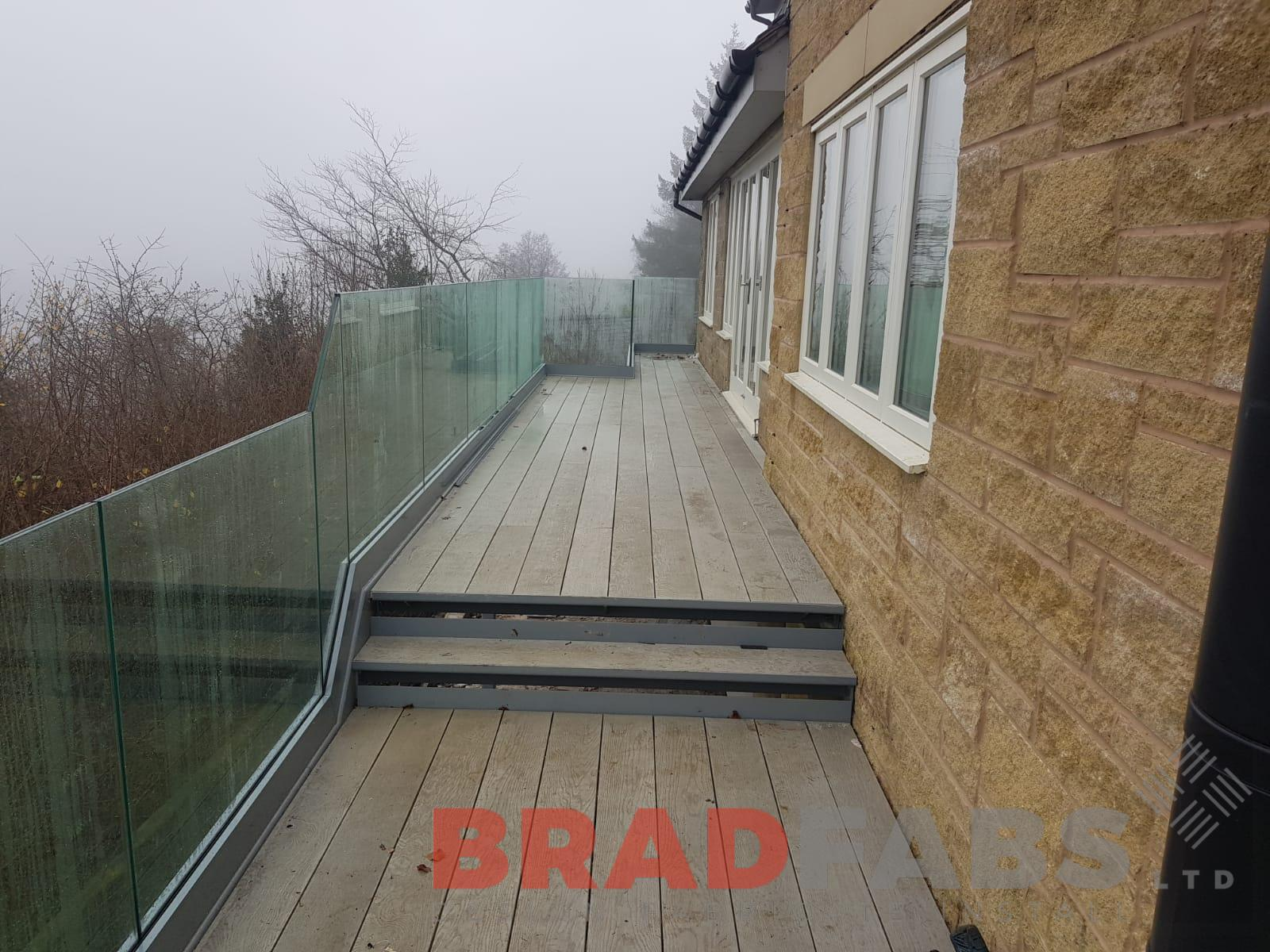 millboard decking floor on balcony