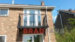 Bradfabs manufactured and installed this balcony in York