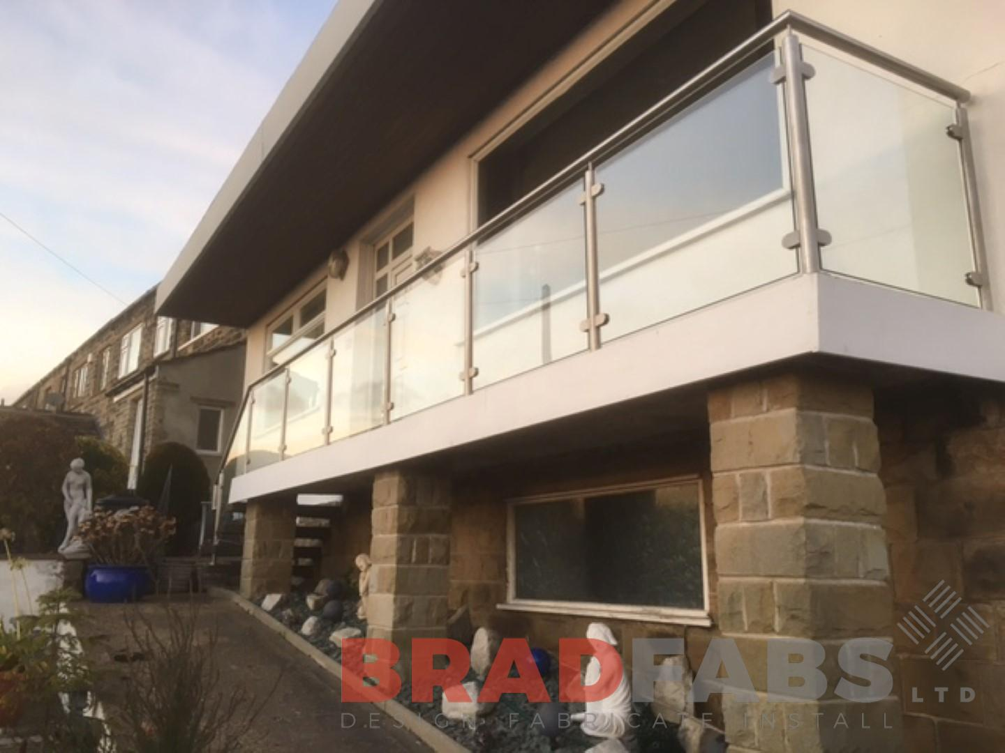 Stainless Steel and Glass Balustrade