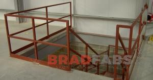 Balustrading fabricated by Bradfabs, Bradfabs balustrading installed in Harrogate, Balustrading in Bradford