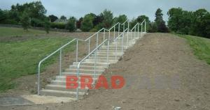 Steel fabricated balustrading in Bradford, BRADFABS steel fabrications