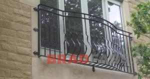 Steel balconette in west yorkshire, steel balconette in Bradford, Steel juloet balcony fabricated in Bradford, Supplied and fitted balconettes