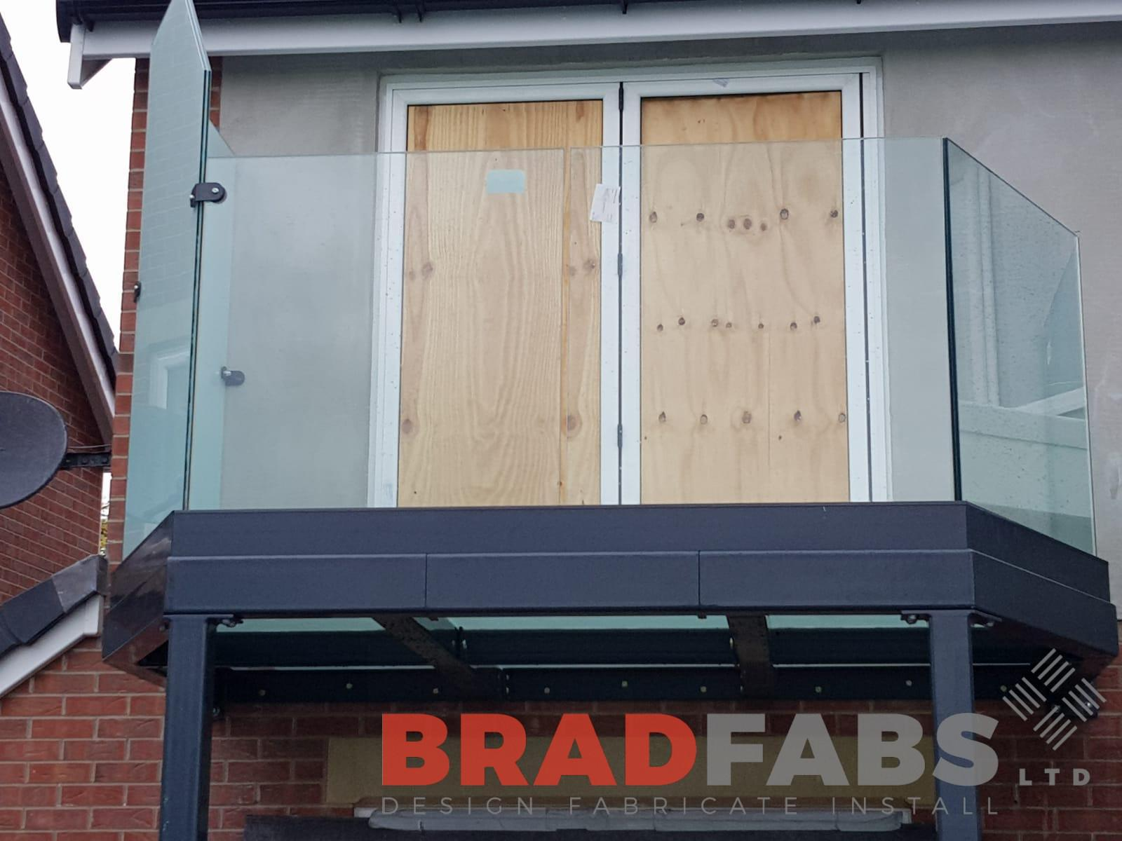 Infinity glass channel system balustrade by Bradfabs